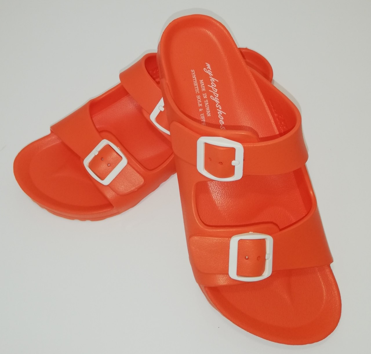 Beach Slides for Ladies – Orange